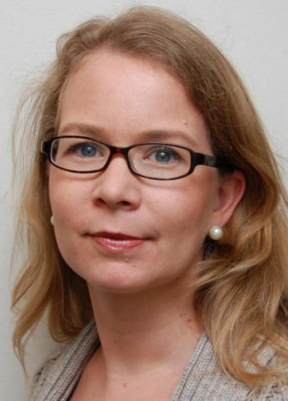 - HISTORIELØST OG USMAKELIG: Postdoktor Vibeke Kieding Banik ved universitet i Oslo har forsket lenge på jødisk historie. Hun reagerer på retorikken fra Nye SOS Rasisme. Foto: UIO