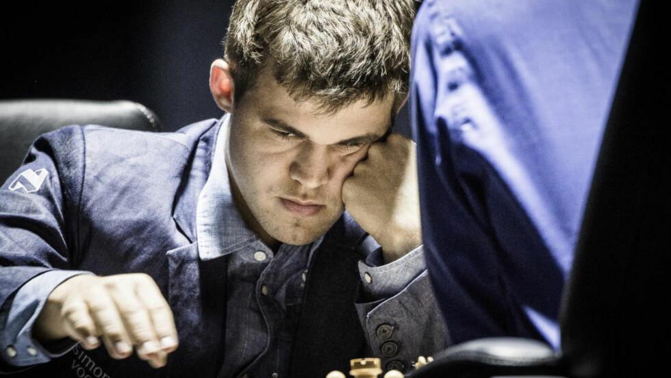 Sotsji, Russland, VM i sjakk. Magnus Carlsen møter Viswanathan Anand i tittelkamp. Foto: Lars Eivind Bones / Dagbladet