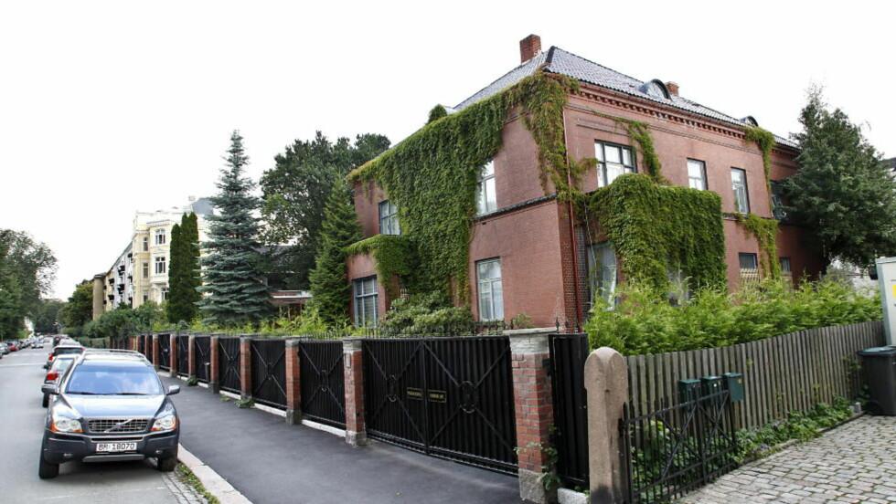 FASJONABELT: Den mye omdiskuterte boligen til Mona Høiness ligger på Frogner i Oslo. Foto: Jacques Hvistendahl