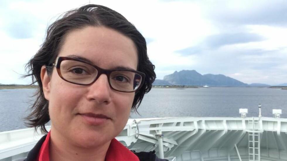 UFRIVILLIG KATOLIKK:  Irena Jakopanec (40) har innvandret til Norge fra Slovenia, er utdannet lege og jobber nå som forsker i Oslo. Hun har også havnet i den katolske kirkas medlemsregister, uten viten og vilje. Foto: Privat