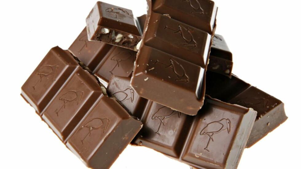 FARETRUET FIRKLØVER: Akkurat som bladet firkløver, kan sjokoladen firkløver bli sjeldnere med tida. I hvert fall om vi skal tro de siste års utvikling og bekymringene fra produsentene. Ilustrasjonsfoto: NINA HANSEN/Dagbladet
