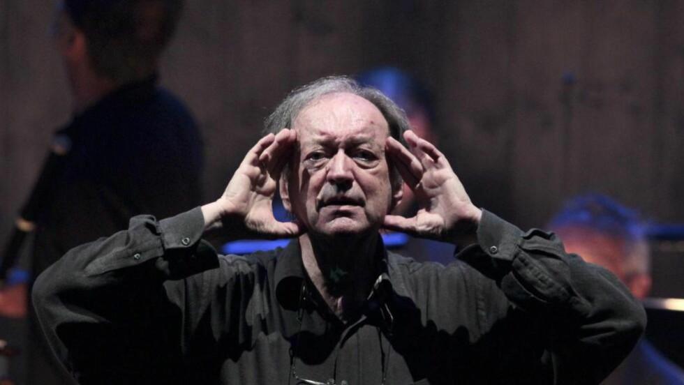 MESTERLIG: Den aldrende mester, Nikolaus Harnoncourt, forbløffer igjen. Foto: Reuters/NTB-Scanpix.