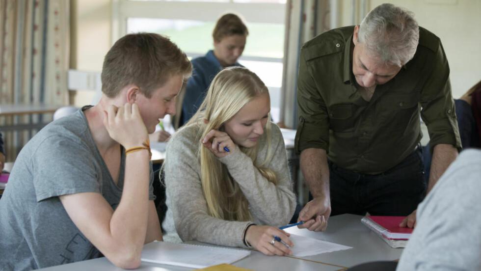 SLITER MED Å ENGASJERE: Norske lærere føler de ikke klarer å engasjere og er på bunnivå i stor internasjonal skoleundersøkelse. Illustrasjonsfoto: NTB Scanpix