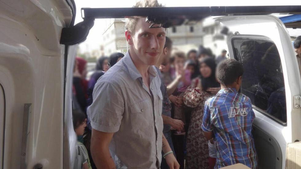 STO IMOT: Abdul-Rahman Peter Kassig skal ha nektet å føye seg etter sine kidnappere helt til det siste. Foto: Reuters / NTB scanpix