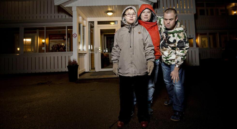 TIL NYTTE: Hege-Anette Havik, Hansine Finvik og Hans Korsgaard mener samfunnet har nytte av alle mennesker. Foto: ANITA ARNTZEN