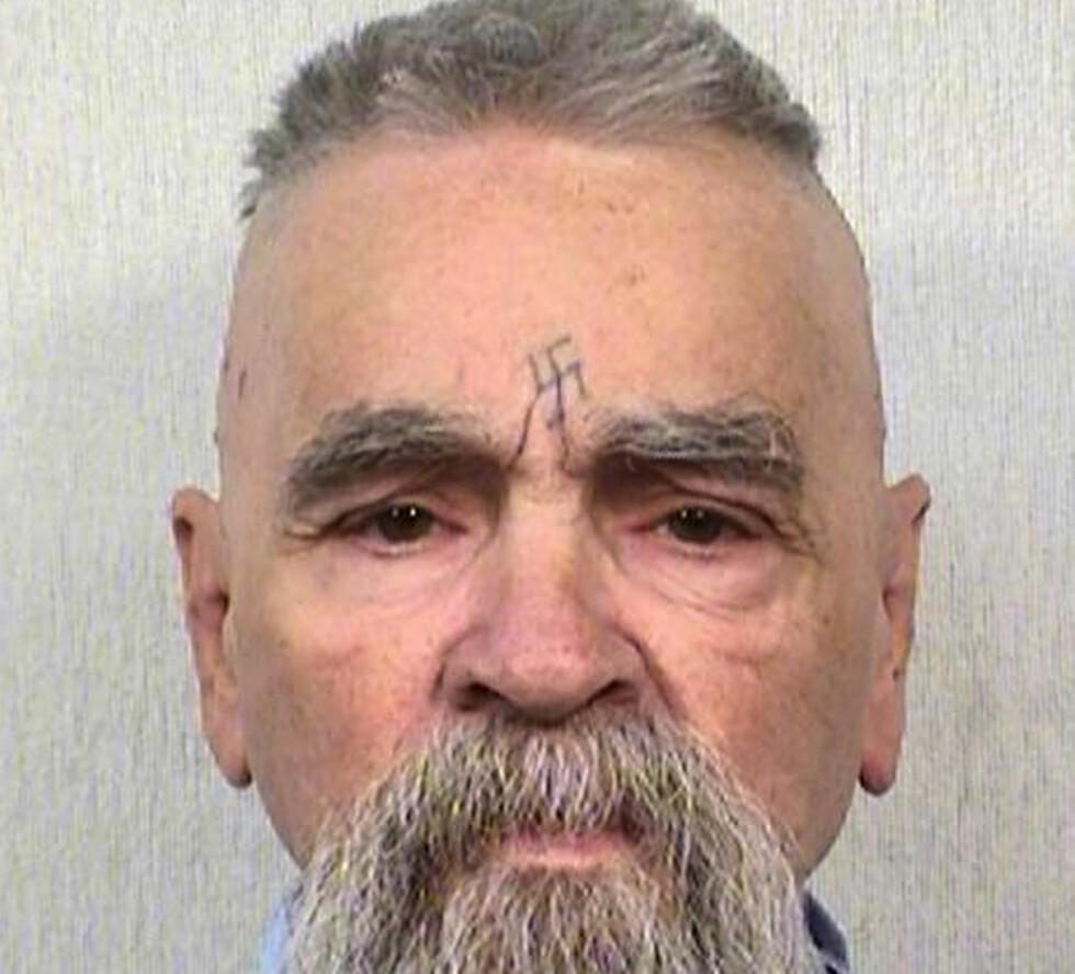 SKAL GIFTE SEG: California Department of Corrections har gitt den 80 år gamle seriemorderen Charles Manson tillatelse til å gifte seg med en 26 år gammel kvinne. Foto: AP Photos/California Department of Corrections