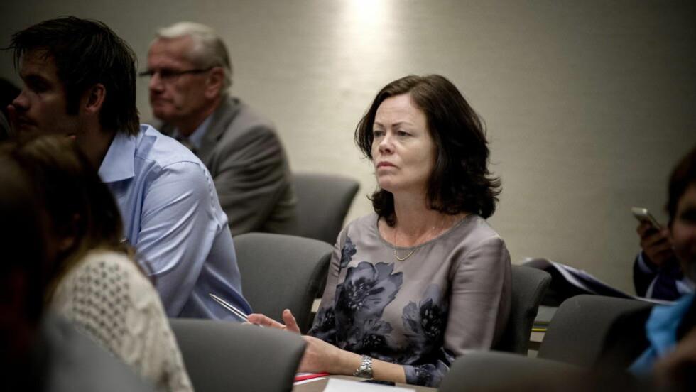 SABLES NED: Barne- og familieminister Solveig Hornes (Frp) forslag om endring i foreldrepermisjonen slaktes av Nav. Foto: Øistein Norum Monsen / DAGBLADET