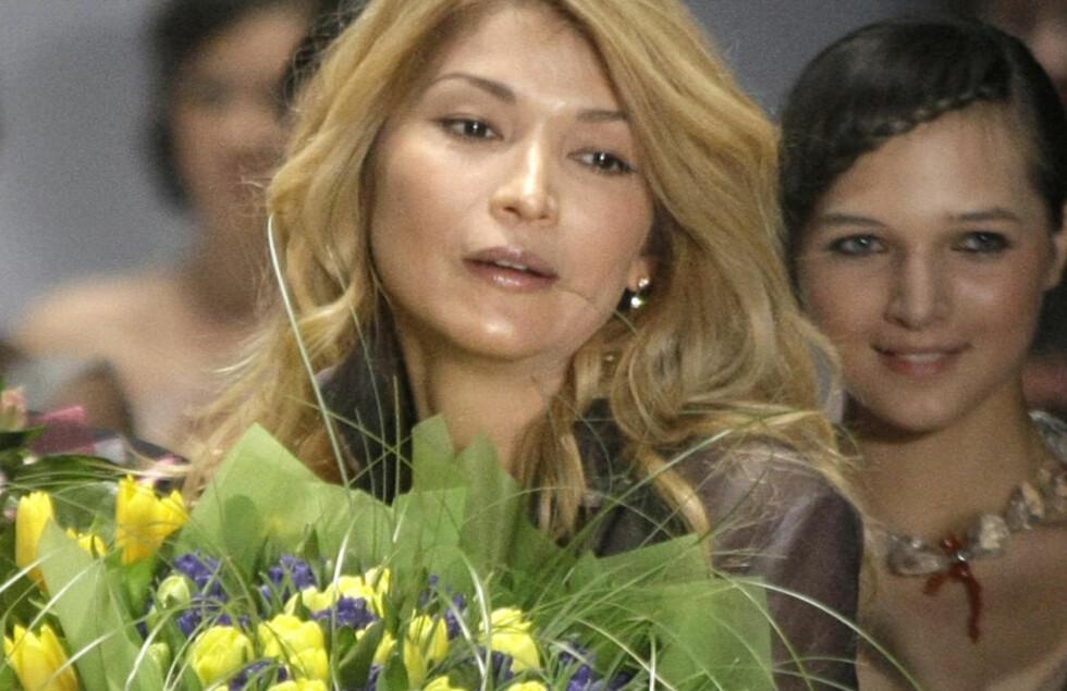 - HALV MILLIARD: Gulnara Karimova, datteren til Usbekistans president, skal ha mottatt over en halv milliard kroner fra Telenor-eide Vimpelcom. Foto: Mikhail Metzel / AP / NTB Scanpix