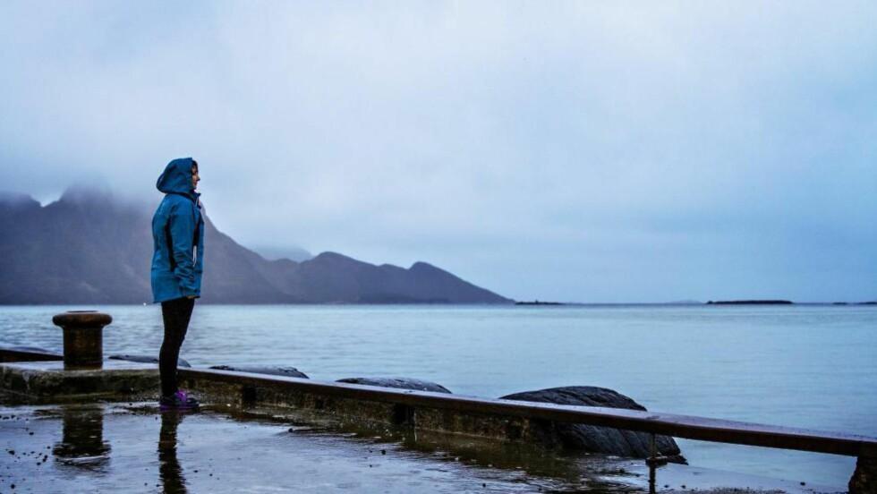 SAVN: For to år siden ble faren til Lena Bye Rødseth borte på sjøen etter at han dro ut i fiskebåt. Han er aldri blitt funnet. Foto: Jørn H. Moen