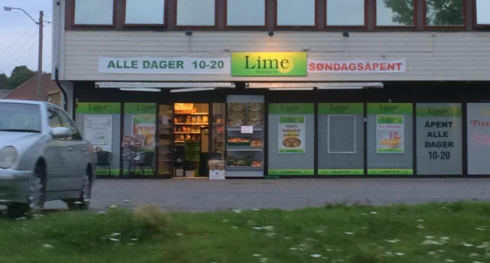 BUTIKKSJEF: Mannen som ble pågrepet i dag har vært tilknyttet enkelte av Lime-butikkene og er i slekt med noen av de påståtte hovedmennene. De aller fleste av butikken er i dag stengt som følge av politiaksjonene, mens noen har skiftet profilering og franchisetakere. Arkivfoto: Harald S. Klungtveit