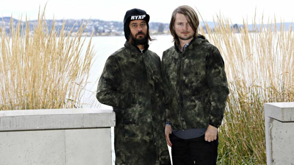 GJØR DET IGJEN: Tromsø-duoen Röyksopp er plassert på Spotifys globale liste som viser hvilke sanger som ble mest delt forrige uke. Foto: Jacques Hvistendahl / Dagbladet