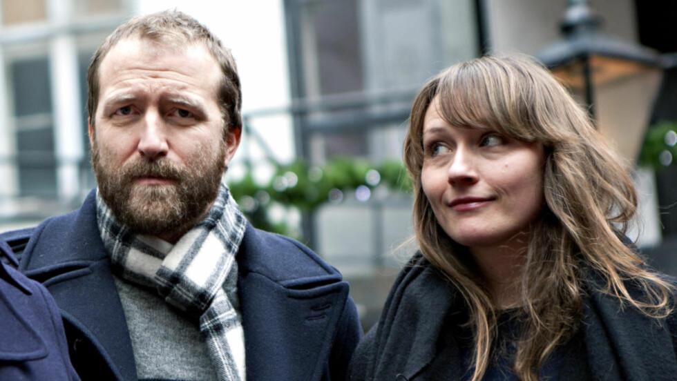 EN KLAR KJÆRLIGHETSSAMMENHENG: Marte Wulff og Thom Hell var sammen i fire år før han ble kjæreste med Marit Larsen.  Foto: Anders Grønneberg