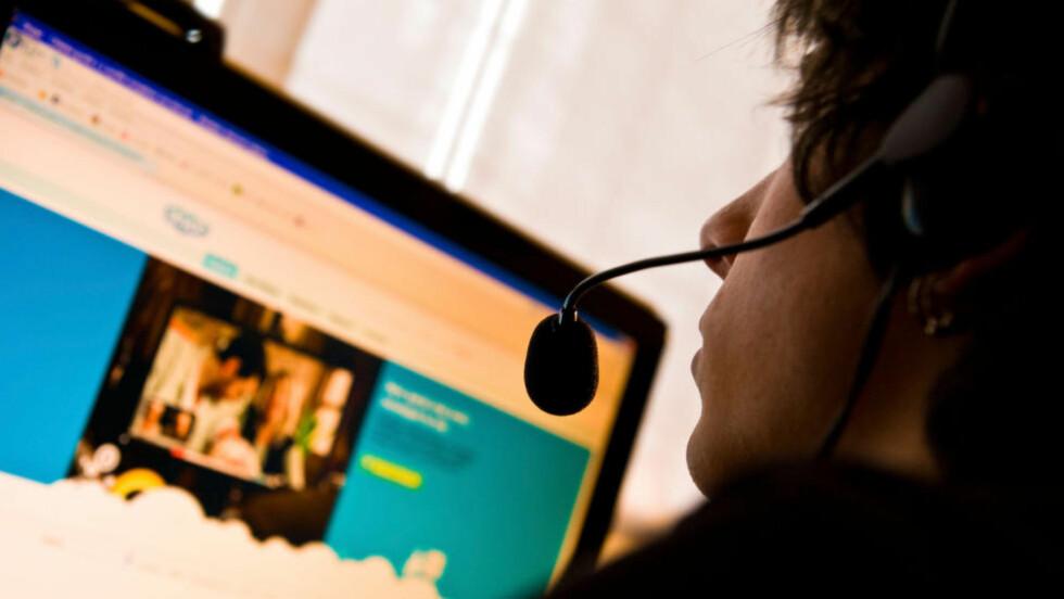 ENKLERE Å SKYPE: Med den nye webutgaven av Skype, blir det enklere å Skype når du er ute på farten. Foto: ALL OVER PRESS