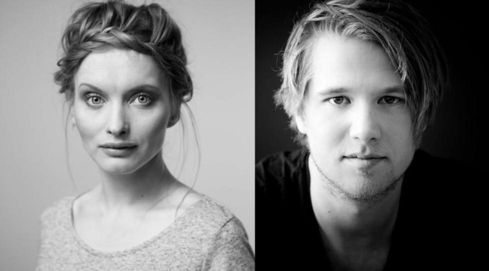 NY TV-SERIE: Julia Bache-Wiig og Ole Christoffer Ertvaag har fått roller i den kommende BBC-serien «The Last Kingdom». Foto: Line Møllerhaug/Tobias Santelmann