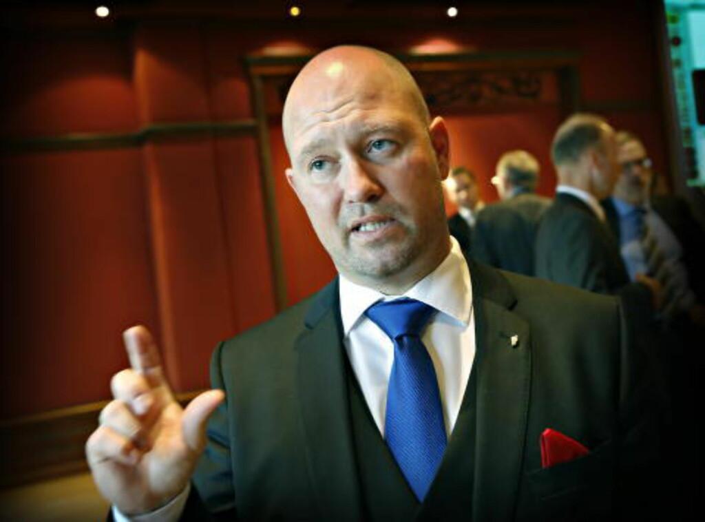 SIER JA: Justis- og beredskapsminister Anders Anundsen (Frp). Foto: Jacques Hvistendahl / Dagbladet