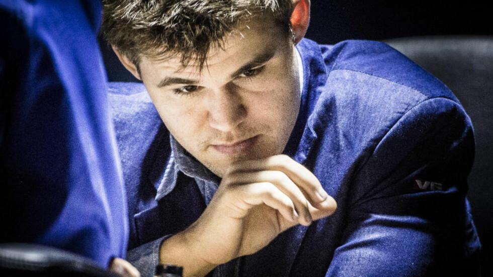 HYLLES:  Magnus Carlsen vant VM-kampen og får ros etter triumfen. Foto: Lars Eivind Bones / Dagbladet