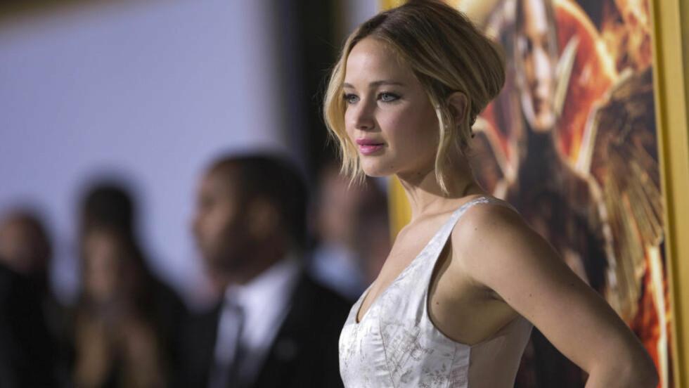 ENDELIG OPPTUR: 2014 har vært et tøft år for The Hunger Games-stjerna Jennifer Lawrence. Men nyeste film i serien det svært godt. REUTERS/Mario Anzuoni