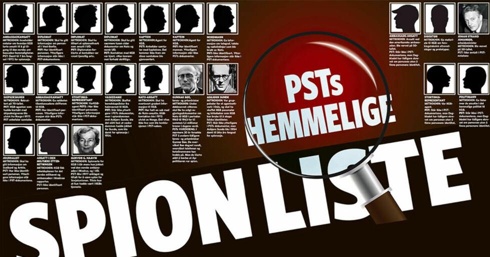 Dagbladet avslører: Her er PSTs hemmelige spionliste