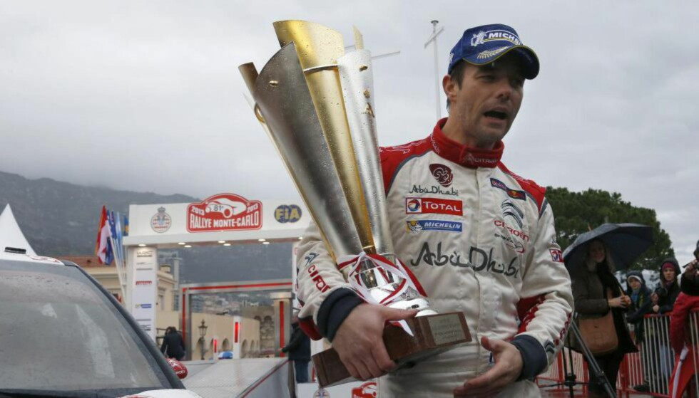 KONGEN AV MONTE CARLO: Sebastien Loeb vant rally Monte Carlo sju ganger som rallyfører. I januar gjør han rallycomeback i det samme løpet. Foto: Valery Hache / AFP / NTB Scanpix