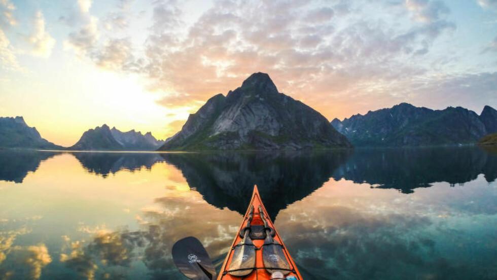 LOFOTEN: Reinefjorden, Lofoten. Foto: THOMASZ FURMANEK