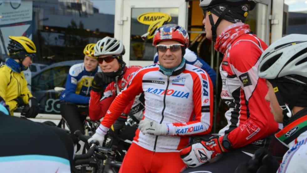 LAGEIER: Alexander Kristoff har kjøpt opp elitesatsingen i Stavanger, Team Øster Hus-Ridley. Det gir ham hjelperyttere i NM, mot at han hjelper dem med løpskalender og bidrar mer til treningsmiljøet i hjembyen. FOTO: Einar Oliver Landa