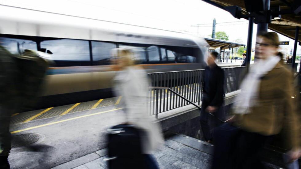 GLEMTE Å STOPPE HER: Lillestrøm stasjon. Arkivfoto: Frank Karlsen / Dagbladet