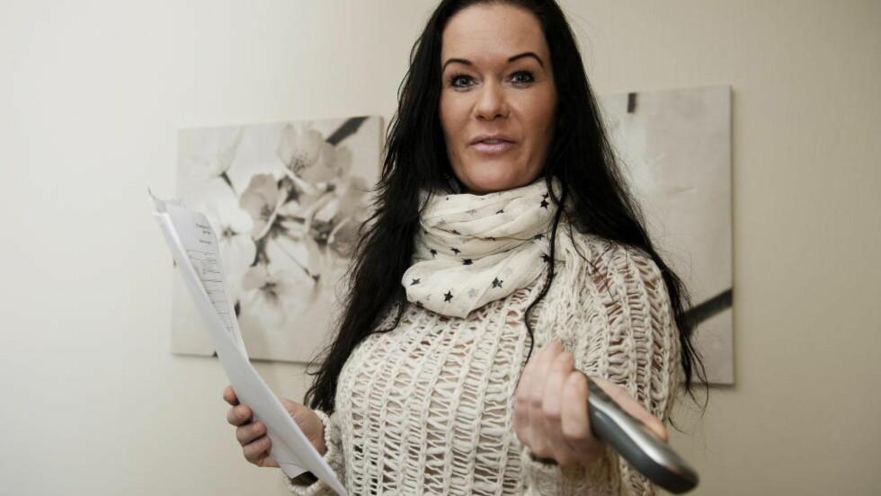 TOK SAKEN VIDERE: Dorthe Solbakken fikk et krav på nærmere 13 000 kroner fra Oslo Creditservice på vegne av Hot Line Tele LTD. Men Solbakken fant seg ikke i å betale og tok saken videre. Foto: Øistein Norum Monsen / DAGBLADET