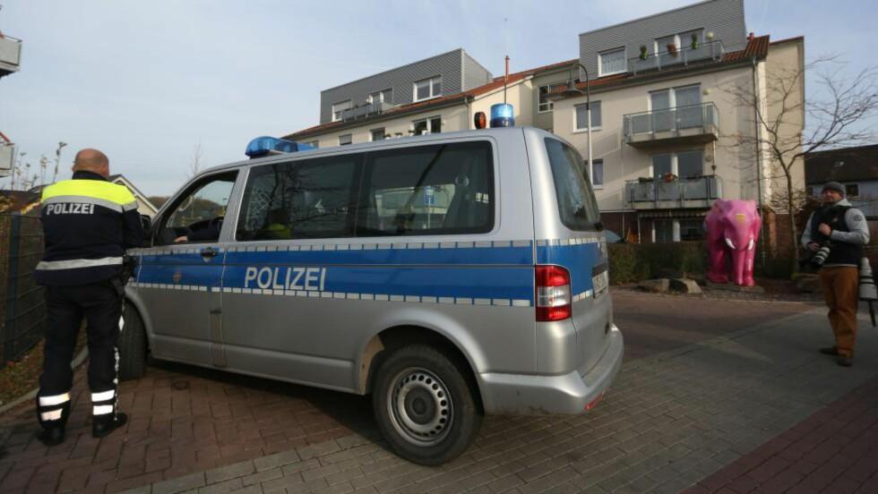 FROKOSTKRANGEL: En eldre mann gikk amok på et eldresenter i den tyske byen Hamm i dag. Foto: AFP / NTB Scanpix
