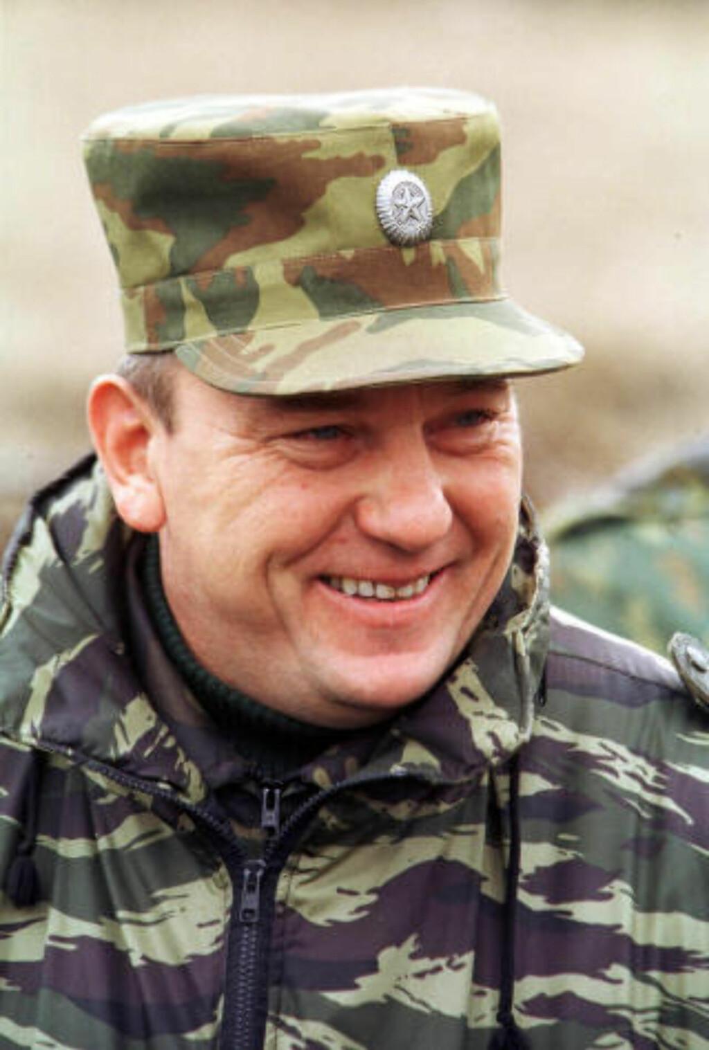 FRYKTET: General Vladimir Shamanov. Foto: AP / NTB scanpix