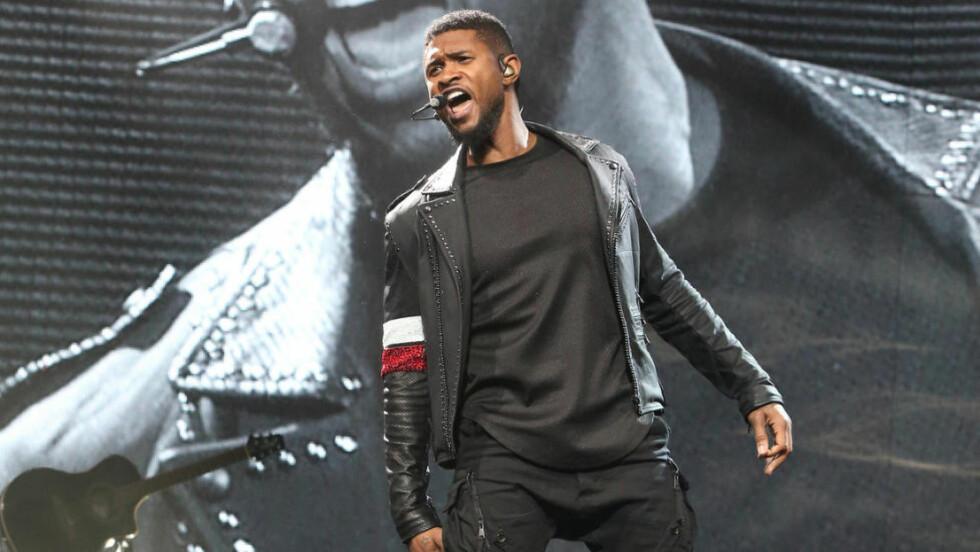 KOMMER IKKE TIL NORGE: Usher avlyser Spektrum-konserten sin som følge av ufortsette hendelser. Foto: Owen Sweeney/Invision/AP