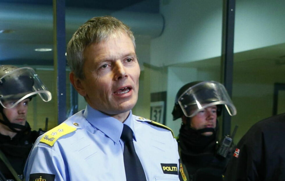 ANDRE SKUDDRAMA:  Politimester i Gudbrandsdalen, Arne Hammersmark, var visepolitimester i Rogaland under Nokas-ranet, hvor politimannen  Arne Sigve Klungland ble skutt og drept. Foto: Erlend Aas / NTB scanpix