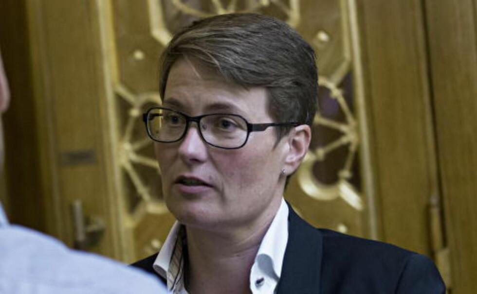 <strong>IKKE FRISLIPP:</strong> Klima- og miljøminister Tine Sundtoft mener motstanden mot lovforslaget er basert på misforståelser. Foto: Torbjørn Berg / Dagbladet