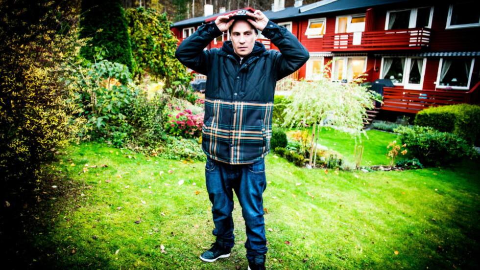 NERVØS: Rapperen OnklP deltar i neste sesong av «Hver gang vi møtes», noe han ser fram til med skrekkblandet fryd. Foto: Thomas Rasmus Skaug / Dagbladet