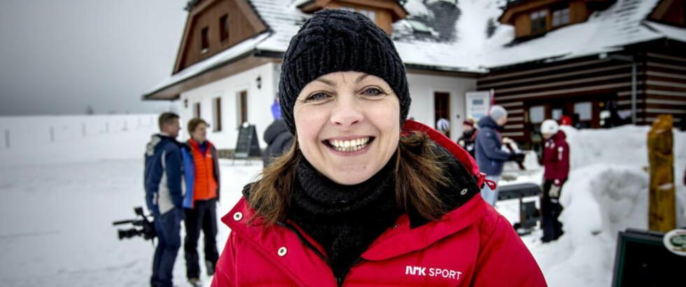 BANG, RETT NED: Liv Grete Skjelbreid Poirée er styremedlem i Brann. I dag har hun sittet i Norling-møter i Bergen. Foto: Bjørn Langsem
