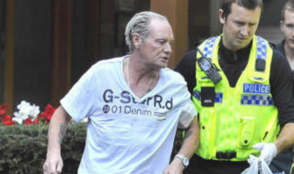 - BESETTELSE: Paul Gascoigne snakker om rusproblemene i et intervju med ITV. Dette bildet er fra august da Gazza ble tvangsinnlagt på grunn av rusproblemene. Foto: Splash/All Over Press