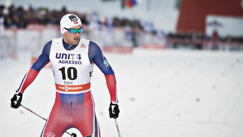 SNAKKER OM VM: Petter Northug ble nummer to på sprinten i Kuusamo. I et intervju med SVT forteller skistjerna at han forventer å få slengt kommentarer etter seg i Falun-VM. Foto Hans Arne Vedlog  / Dagbladet