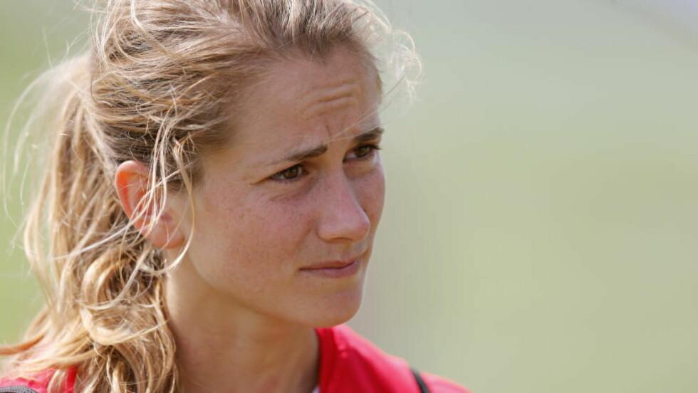TIL ENGLAND: Ingrid Ryland er klar for den engelske fotballklubben Liverpool fra neste sesong.  Foto: Terje Bendiksby / NTB scanpix