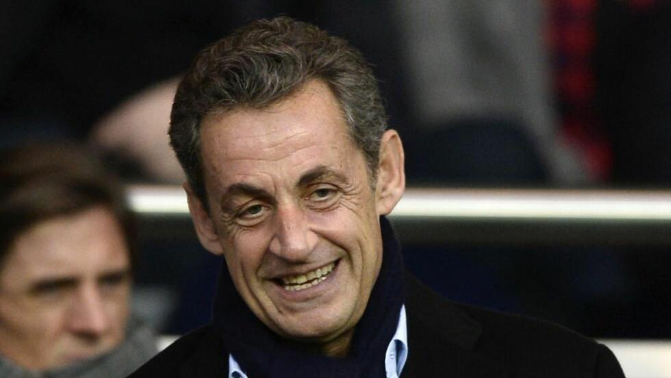 COMEBACK: Nicolas Sarkozy er ny partileder for de konservative i Frankrike. Foto: AFP/FRANCK FIFE