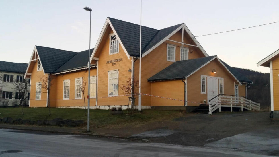 JULEBORD: Julebordet ble arrangert ved Arbeideren på Hadsel. Foto: Helge Korneliussen