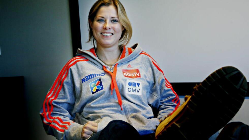 SER FREMOVER:  Anette Sagen fikk aldri hoppet i Sotsji. Nå ser hun fram mot Falun-VM i februar.  Foto: Jacques Hvistendahl / Dagbladet
