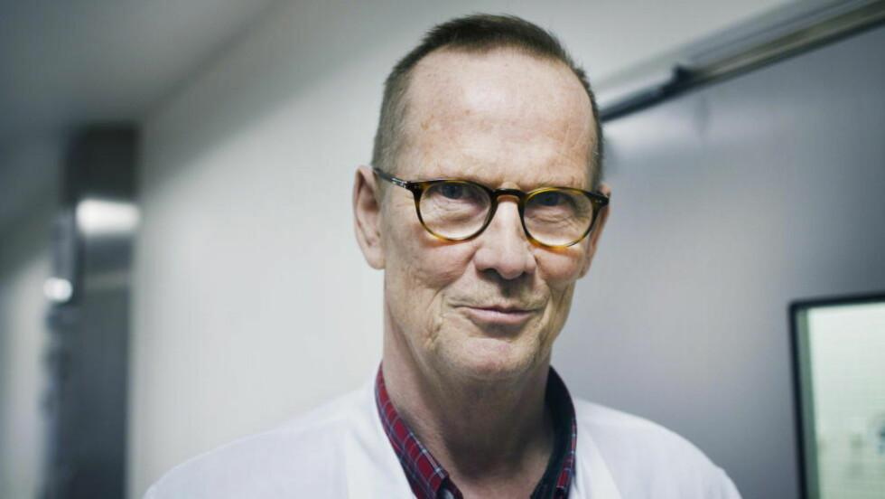 ANTIBIOTIKARESISTENS-FORSKEREN: Overlege og forsker Dag Berild ved infeksjonsavdelingen på Ullevål.  Foto: Hilda Nyfløt / Dagbladet
