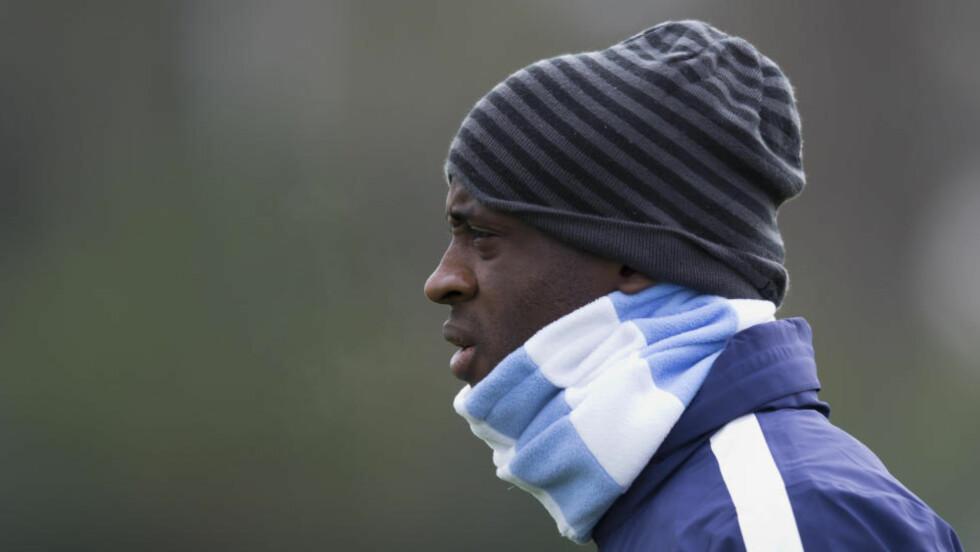 KRITISERT: Yaya Toure har blitt kritisert for innsatsen sin denne sesongen, men lar seg ikke påvirke av de negative påstandene. Foto: AP Photo/Jon Super