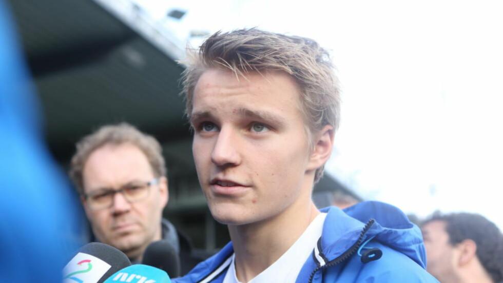 IKKE TIL CHELSEA: Skal vi tro klubbens portugisiske manager, kommer ikke Martin Ødegaard til å havne hos de foreløpige engelske ligalederne. Foto: Christan Roth Andersen/Dagbladet