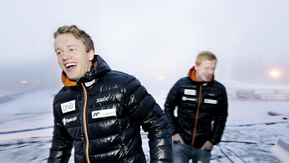 EVIG DUELL:  Tarjei Bø og broren Johannes har konkurrert i alle år. Tarjei innrømmer at han frykter broren i år. Foto: NTB Scanpix