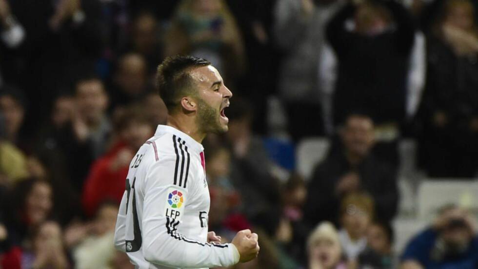 SOLID: Real Madrid hadde små problemer med å ta seg videre i den spanske cupen. Cornellá ble slått 5-0 tirsdag og sammenlagt 9-1. Foto: AFP PHOTO/ PIERRE-PHILIPPE MARCOU