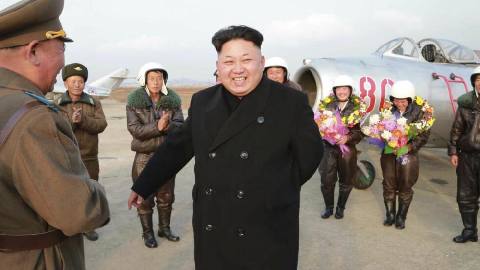 NY LOV: Kim Jong Un ønsker ikke at andre skal ha samme navn som ham. Foto: NTB Scanpix