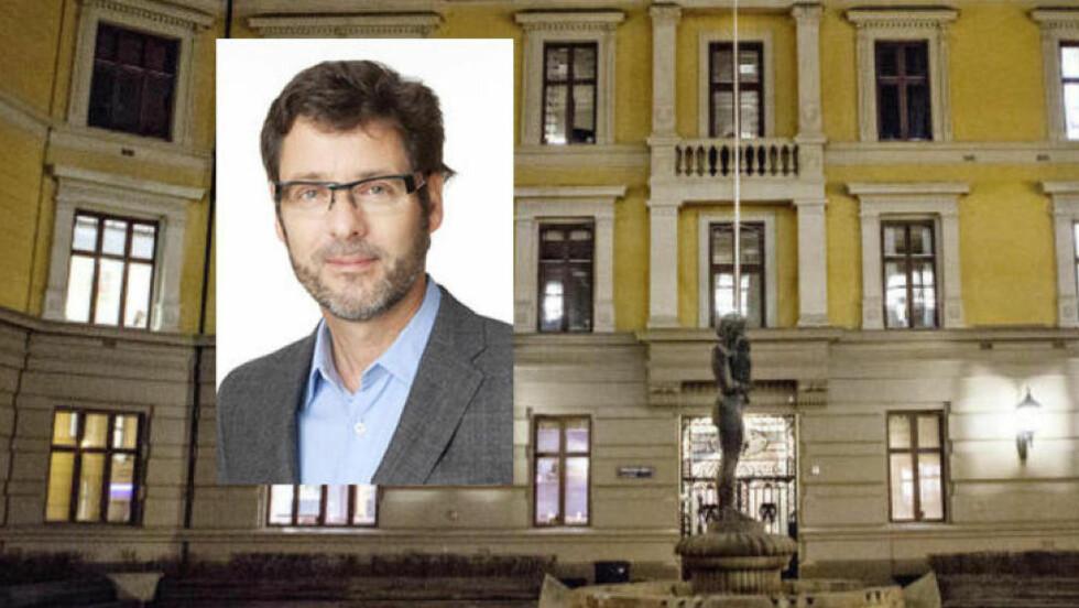 HAR INNRØMMET UNDERSLAGET: Tidligere finansdirektør Leif Marius Schatvet innrømmer å ha underslått 9,4 millioner fra Aschehoug.