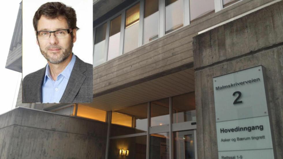Dømt:  Leif Marius Schatvet (51) fikk dommen i Asker og Bærum tingrett i dag. Foto: Anders Grønneberg