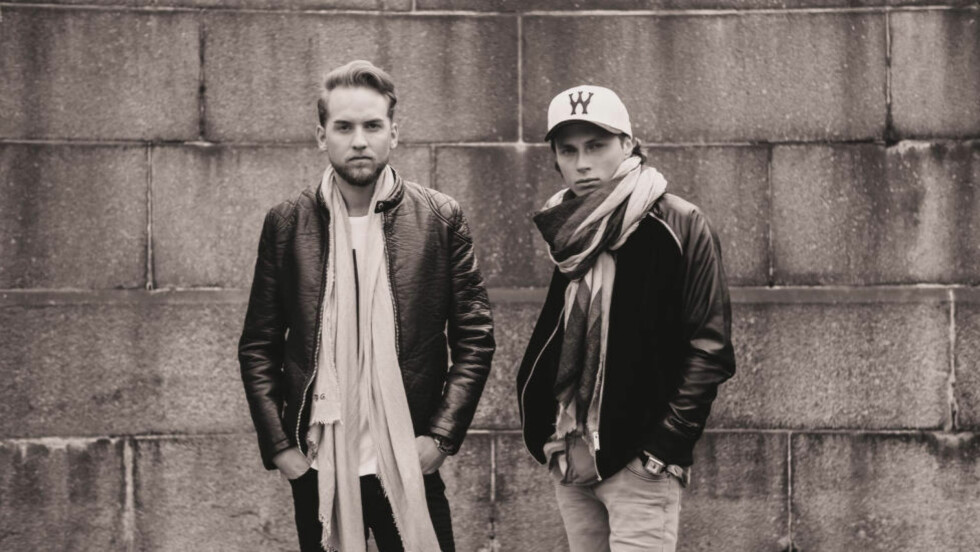 STREAMES SÅ DET SUSER: Simen Aukre og Mikkel Christiansen i Broiler er de mest avspilte nordmennene på Spotify i 2014. Foto: Universal Music