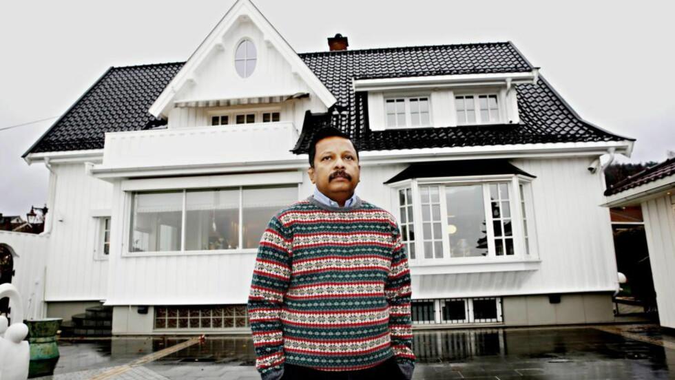 NORGES RIKESTE INNVANDRER: Dyre telefonregninger ga den fattige asylsøkeren Rashiah R. Leon ideen til teleselskapet Lebara. Nå har han i følge Kapital en formue på 2,7 milliarder kroner. Foto: Jacques Hvistendahl